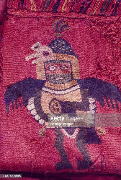 Paracas textile cloth depicting anthropomotfic figures The Paracas culture was an Andean society existing between approximately 800 BCE and 100 BCE...