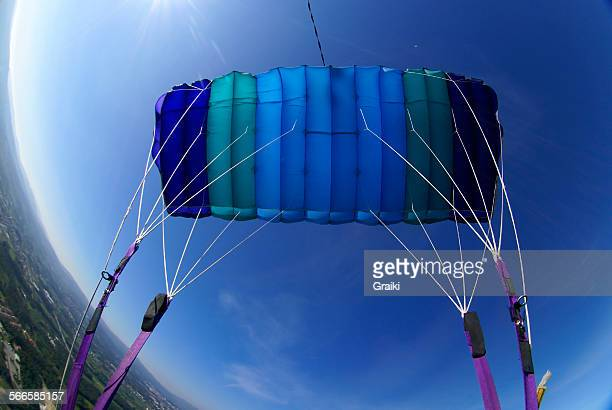 Parachute flying