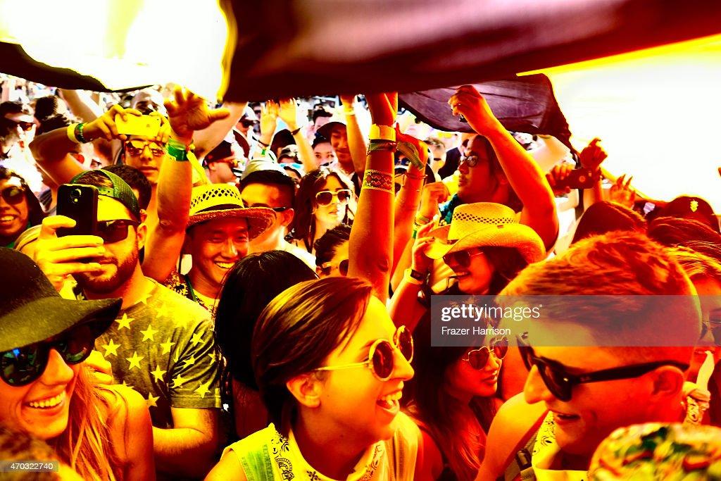 An Alternative View Of The 2015 Coachella Valley Music And Arts Festival - Weekend 2 : Nachrichtenfoto