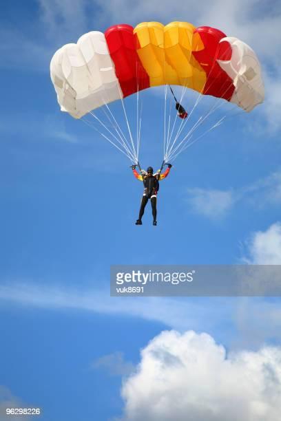 Parachuter in der