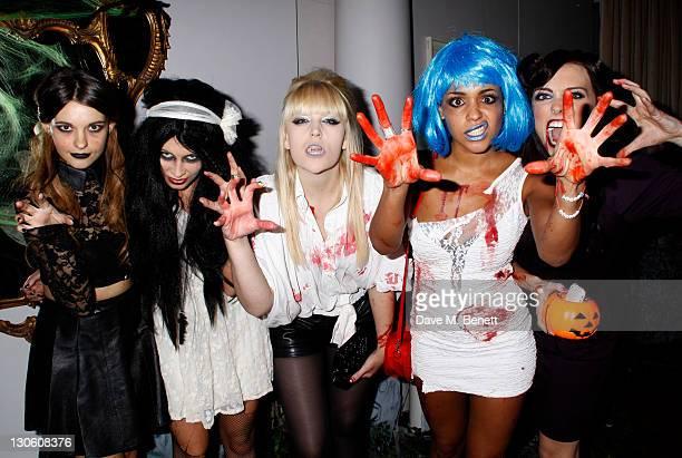 Parade attend Virgin Media's Tivo Horror Quiz at One Marylebone on October 26 2011 in LondonEngland