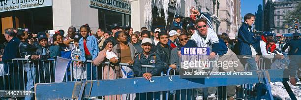 Parade for 1998 World Series Champions NY Yankees New York