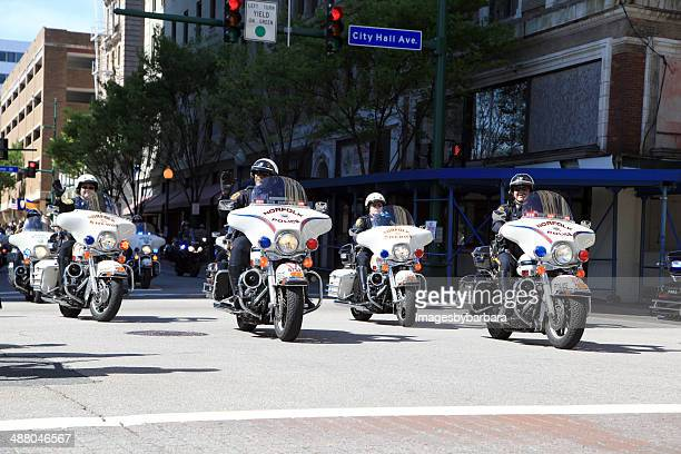 parade of police - norfolk virginia stock pictures, royalty-free photos & images