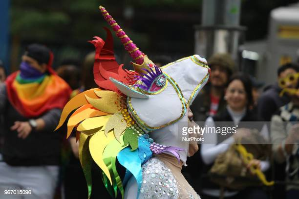 Parade of the 22nd edition of the Parade of LGBT Pride in the city of São Paulo held on Avenida Paulista this Sunday The event is an initiative of...