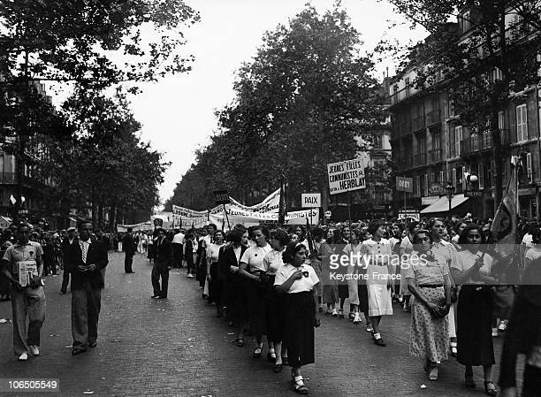 Parade Of The Young Female Communists