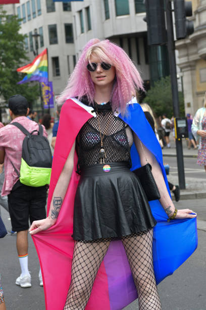GBR: Pride In London 2019 - Street Style