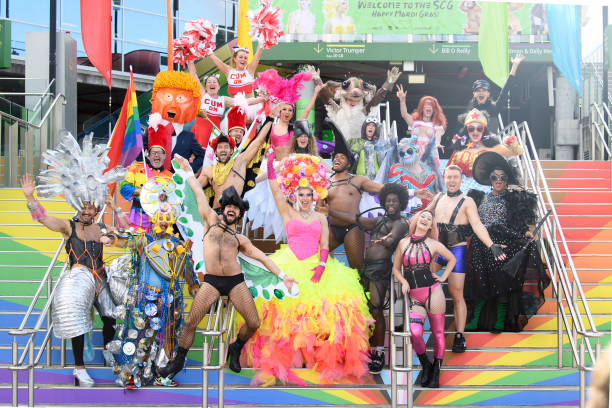 AUS: Sydney Gay and Lesbian Mardi Gras Parade Press Conference