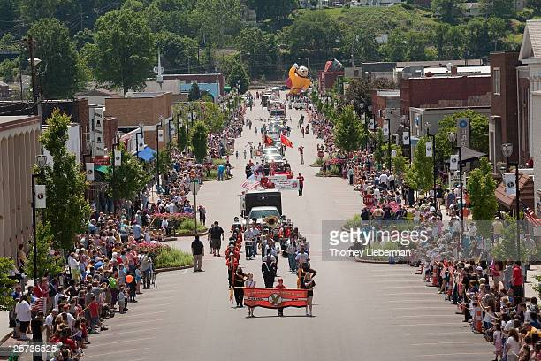 parade - charleston west virginia stock pictures, royalty-free photos & images