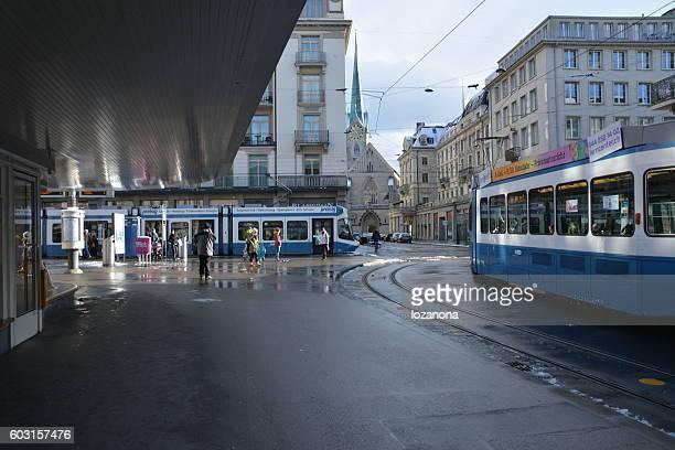 Paradeplatz  Tram Network