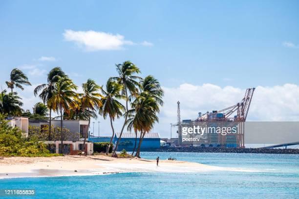 "paradise beach, bridgetown, barbados - ""peeter viisimaa"" or peeterv stock pictures, royalty-free photos & images"