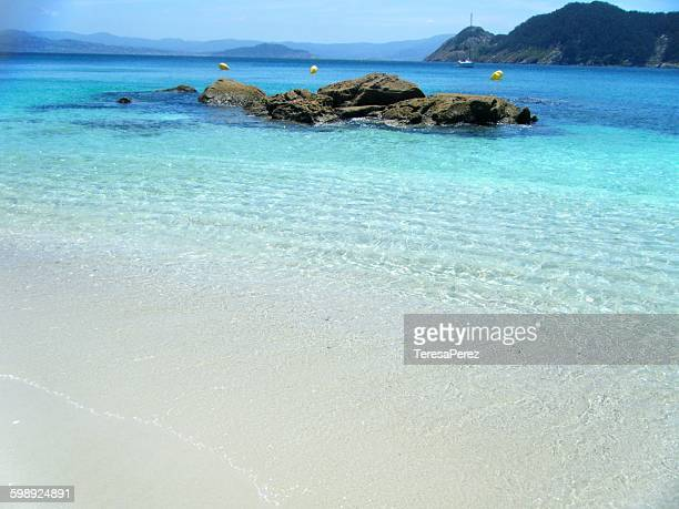 Paradise beach in Cies Islands