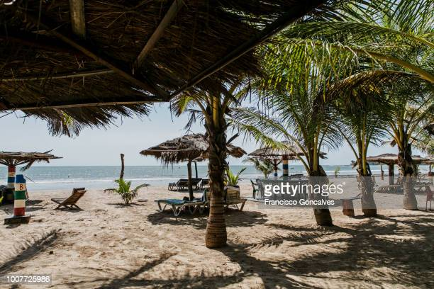 Paradise Beach in Sanyang, Gambia