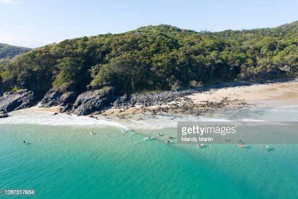 paradise in noosa - sunshine coast australia stock pictures, royalty-free photos & images