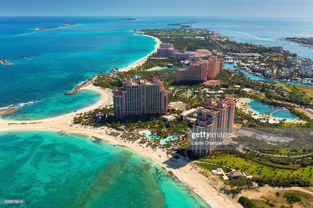 Paradise Island Nassau Bahamas Stock Photo