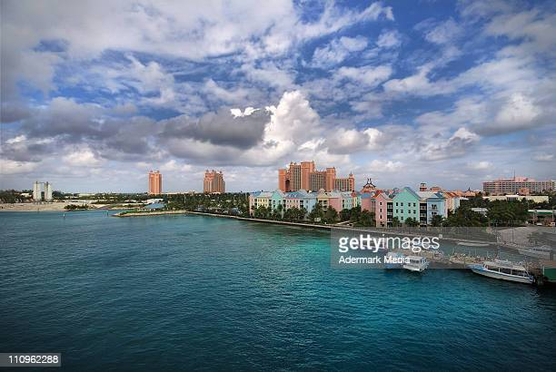 paradise island - nassau stock photos and pictures