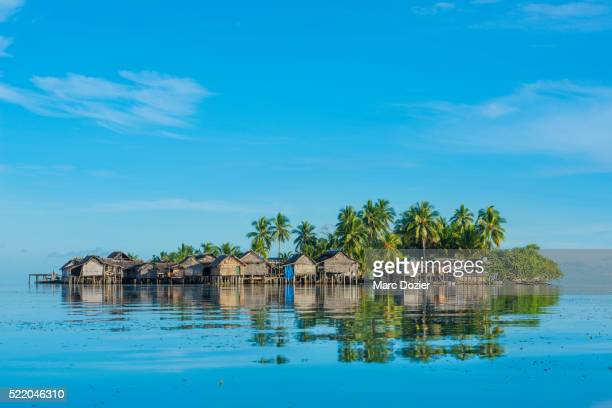 paradise island - papua new guinea stock pictures, royalty-free photos & images
