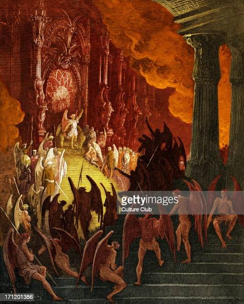 Satan Sin And Death Paradise Lost Book: Satan In Council. Satan In His Magnificent Palace In