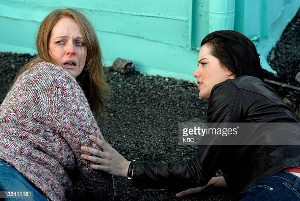 WOMAN Paradise Lost Episode 103 Pictured Chelah Horsdal as Suicidal Women Michelle Ryan as Jaime Sommers