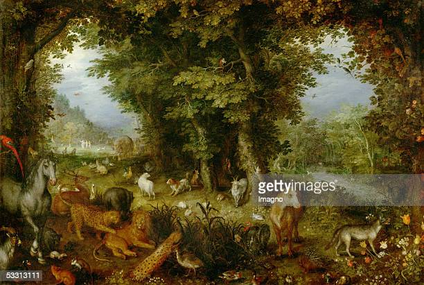Paradise on Earth 16071608 Also called The Earth as part of a series of four paintings showing the four elements ordered in 1607 by Cardinal Federico...