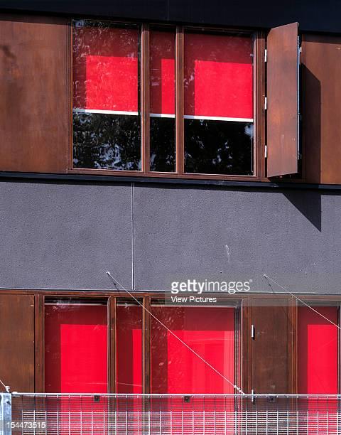 Paradise Park Sure Start Centre, London, United Kingdom, Architect Dsdha Architects, Paradise Park Sure Start Centre Exterior View - Detail