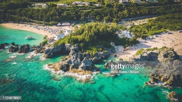 paradise - bermuda stock pictures, royalty-free photos & images