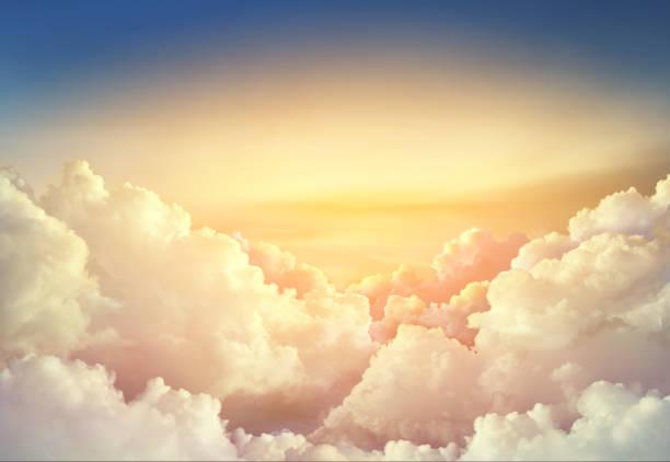 Paradise Sky Background Large Clouds - Fine Art prints
