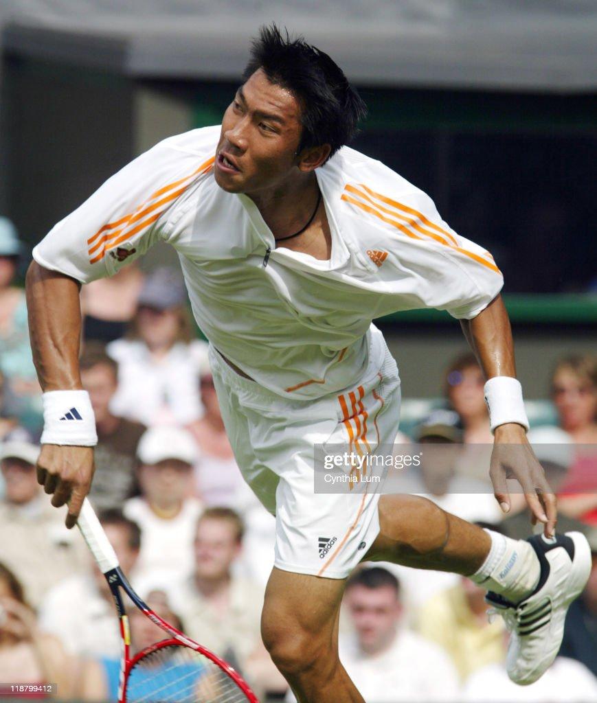 2005 Wimbledon Championships - Gentlemen's Singles - First Round - Marat Safin