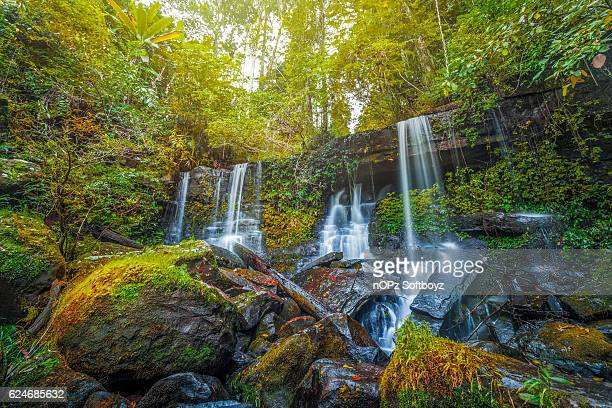 paradorn waterfall - nopz stock pictures, royalty-free photos & images