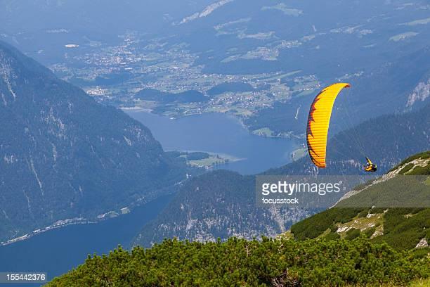 Paraglider in the Alps - Austria