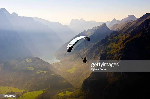 para-glider - smooth stock photos and pictures