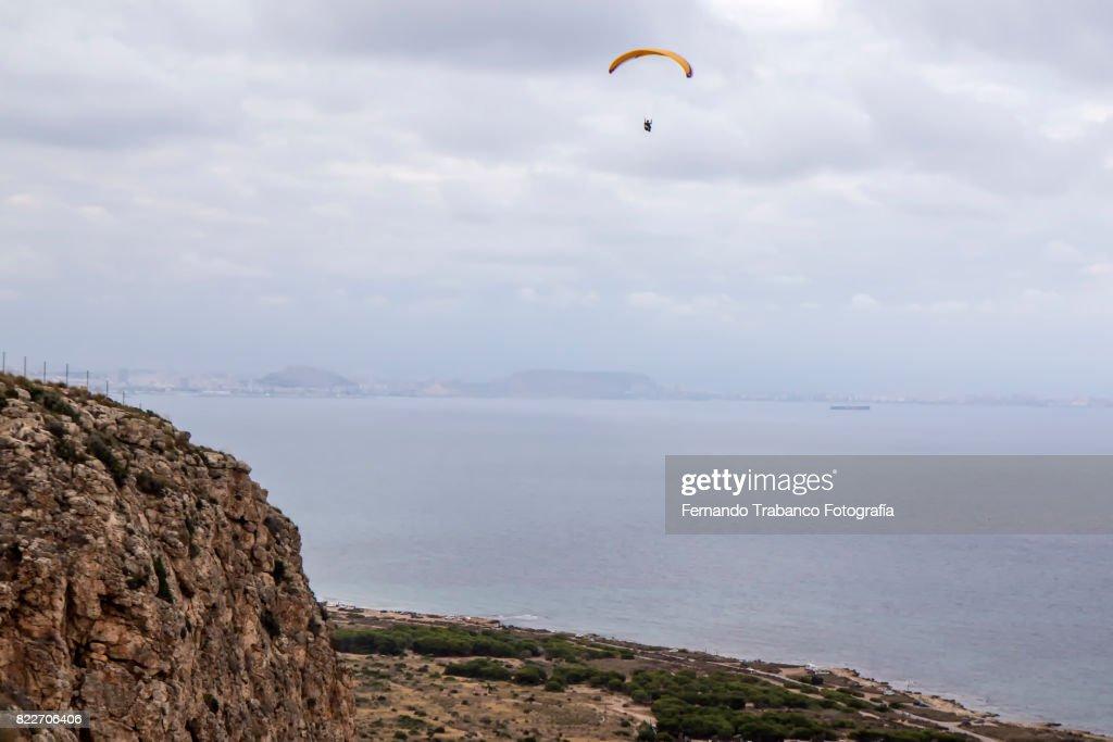 Paraglider : Stock Photo