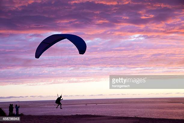 Paragliding at the Great Dune of Pyla