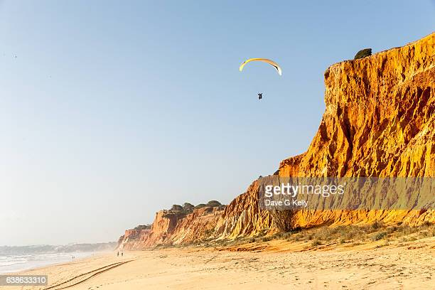 Paragliding by Red Cliffs