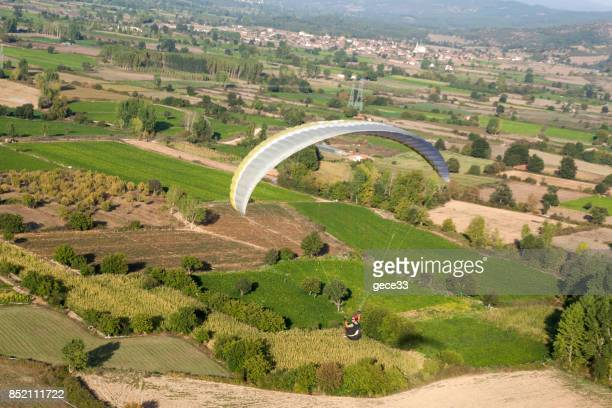 paragliding Flying