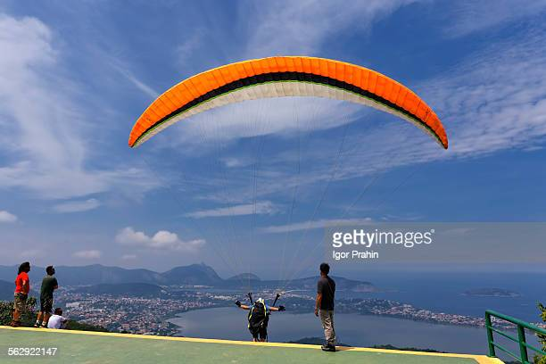 Paragliding, Niteroi, Rio de Janeiro