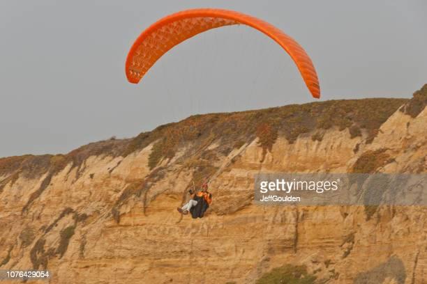 Paragliding Off a Bluff