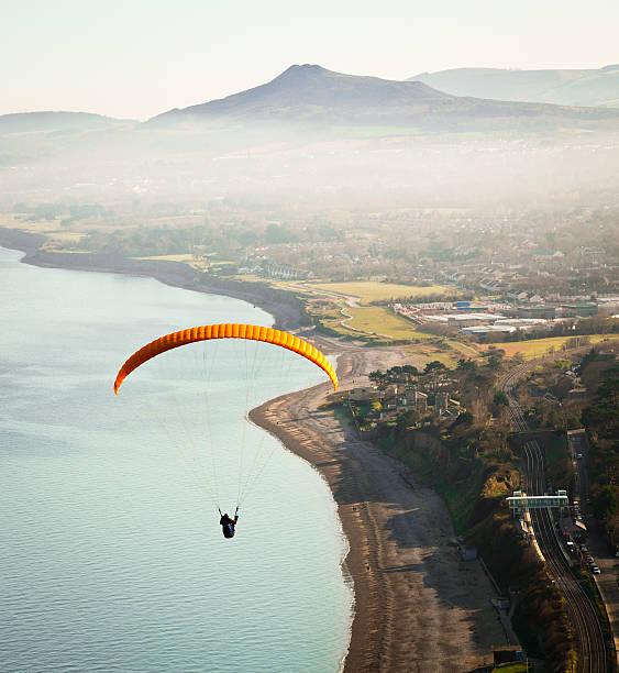 Paragliding off Killiney Hill