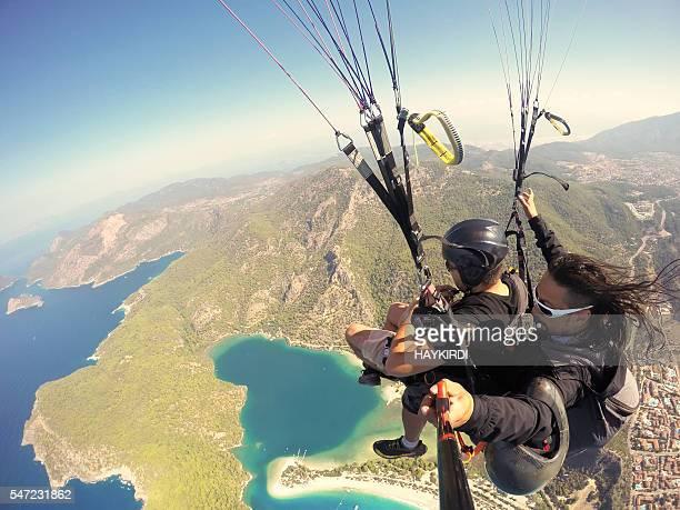 Paragliding on Oludeniz Fethiye Turkey