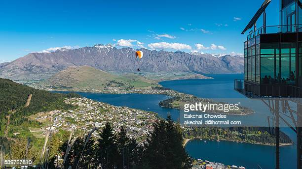 Paragliding over The Queenstown