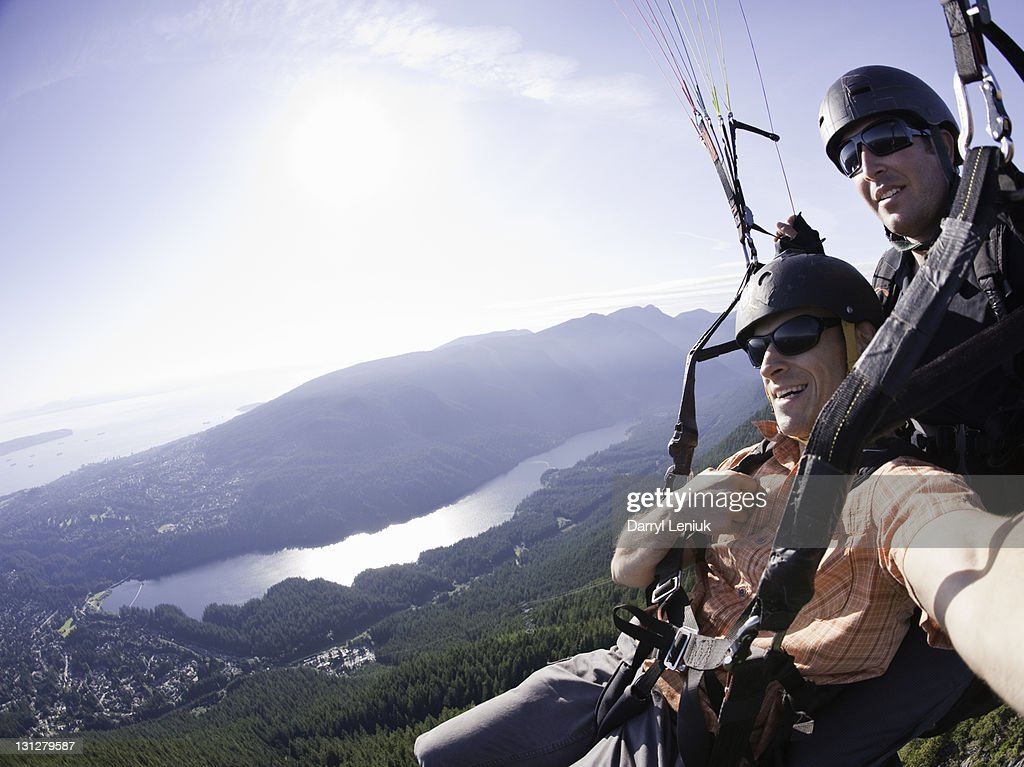 Paragliding : Stock Photo