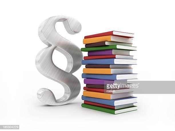 Absatz mit Büchern