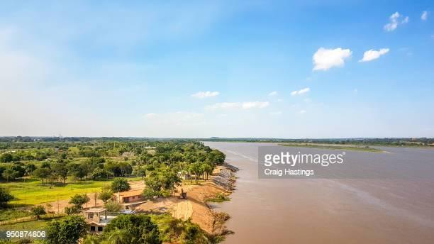 Paraguay Argentina River Border