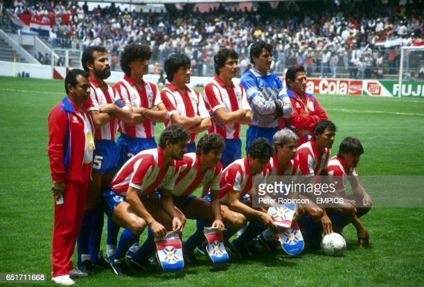 Paraguay team group