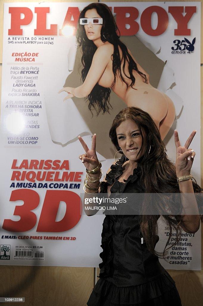 Riquelme playboy larissa LARISSA RIQUELME