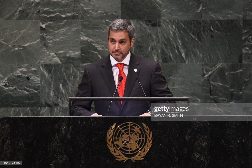 UN-ASSEMBLY-DIPLOMACY : News Photo