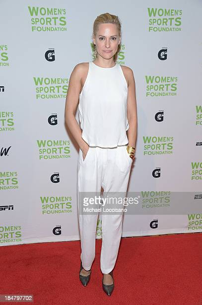 Paralympian Aimee Mullins attends the 34th annual Salute to Women In Sports Awards at Cipriani Wall Street on October 16 2013 in New York City