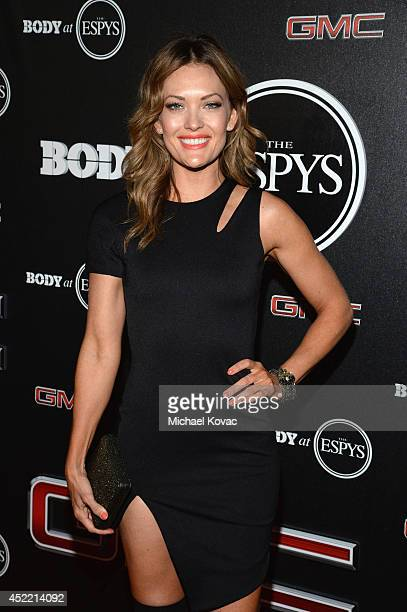 Paralympian Amy Purdy attends the Body at ESPYS PreParty at Lure on July 15 2014 in Hollywood California
