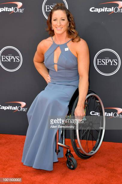 Paralympian athlete Tatyana McFadden attends The 2018 ESPYS at Microsoft Theater on July 18 2018 in Los Angeles California