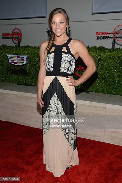 Paralympian Oksana Masters attends BODY at ESPYs at Milk Studios on July 14 2015 in Hollywood California