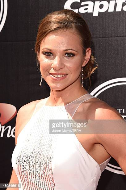 Paralympian Oksana Masters attends The 2015 ESPYS at Microsoft Theater on July 15 2015 in Los Angeles California